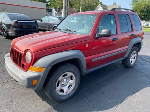 2006 Jeep Liberty for sale at MARK CRIST MOTORSPORTS in Angola IN
