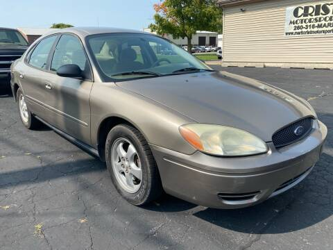 2007 Ford Taurus for sale at MARK CRIST MOTORSPORTS in Angola IN