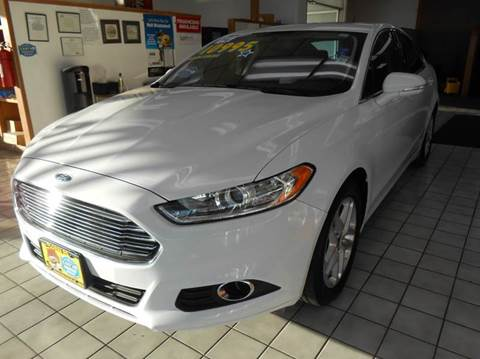 2014 Ford Fusion for sale at My Three Sons Auto Sales in Sacramento CA