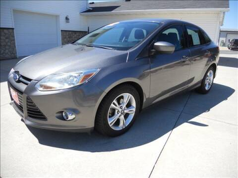 2012 Ford Focus for sale at OLSON AUTO EXCHANGE LLC in Stoughton WI