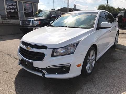 2015 Chevrolet Cruze for sale in Lowell, AR
