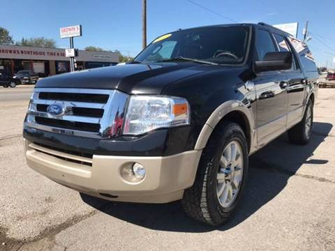 2012 Ford Expedition EL for sale in Lowell, AR