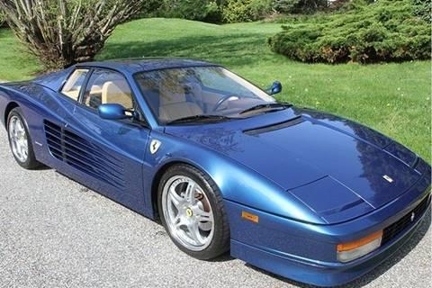 1989 Ferrari Testarossa For Sale In Raleigh Nc