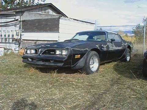 Pontiac Used Cars Classic Cars For Sale Stevensville Montana Muscle