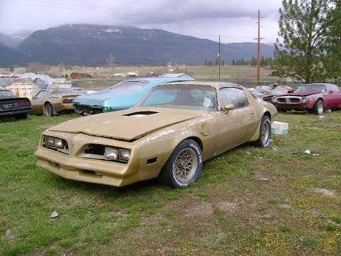 1978 Pontiac Firebird for sale in Stevensville, MT