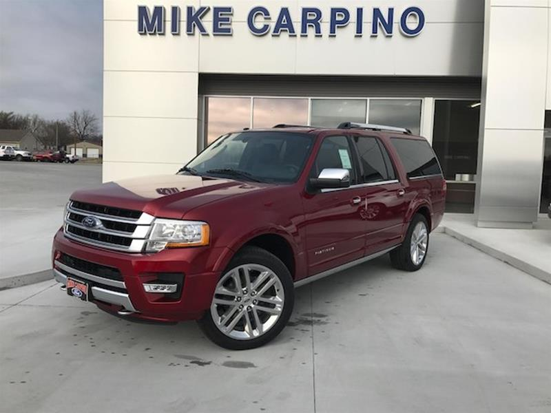 2017 Ford Expedition EL Platinum 4WD Used Cars in Columbus KS 66725 & 2017 Ford Expedition for Sale in Springfield MO - CarGurus markmcfarlin.com