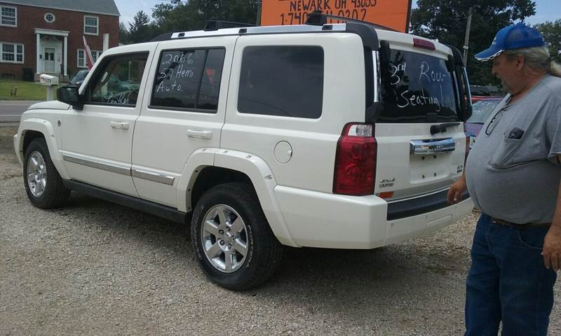 2006 Jeep Commander Limited 4dr SUV 4WD - Newark OH