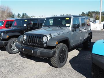 2017 Jeep Wrangler Unlimited for sale in Manchester, NH