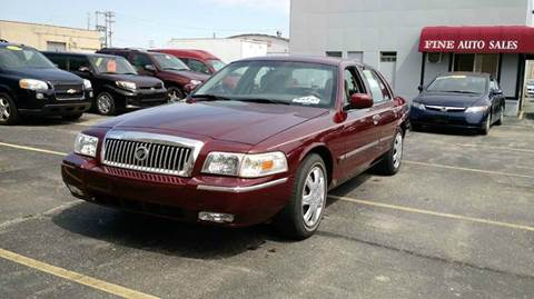 2008 Mercury Grand Marquis for sale at Fine Auto Sales in Cudahy WI