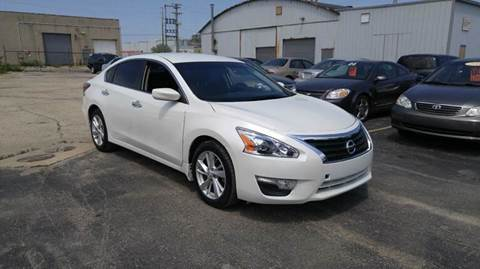 2014 Nissan Altima for sale at Fine Auto Sales in Cudahy WI