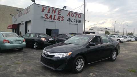 2014 Toyota Camry for sale at Fine Auto Sales in Cudahy WI