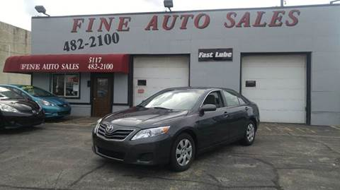 2010 Toyota Camry for sale at Fine Auto Sales in Cudahy WI