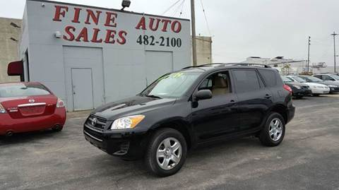 2009 Toyota RAV4 for sale at Fine Auto Sales in Cudahy WI