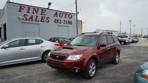 2009 Subaru Forester for sale at Fine Auto Sales in Cudahy WI