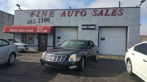 2007 Cadillac DTS for sale at Fine Auto Sales in Cudahy WI