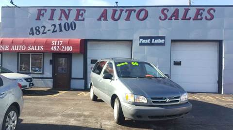 2000 Toyota Sienna for sale at Fine Auto Sales in Cudahy WI