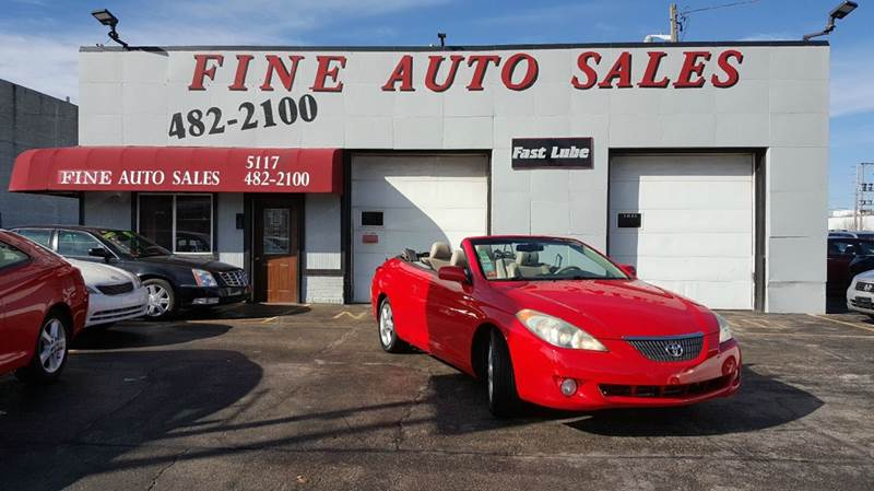 2006 Toyota Camry Solara for sale at Fine Auto Sales in Cudahy WI