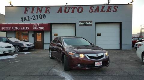 2010 Acura TSX for sale at Fine Auto Sales in Cudahy WI
