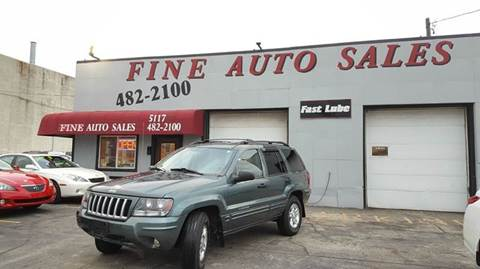 2004 Jeep Grand Cherokee for sale at Fine Auto Sales in Cudahy WI
