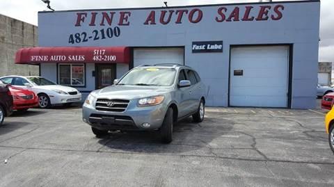2009 Hyundai Santa Fe for sale at Fine Auto Sales in Cudahy WI