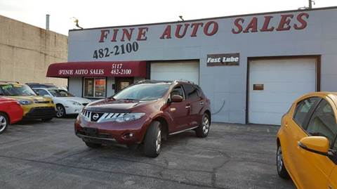 2010 Nissan Murano for sale at Fine Auto Sales in Cudahy WI