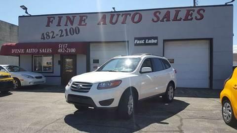 2010 Hyundai Santa Fe for sale at Fine Auto Sales in Cudahy WI