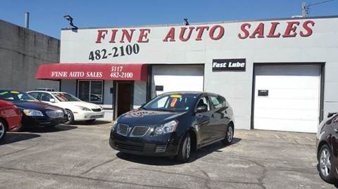 2009 Pontiac Vibe for sale at Fine Auto Sales in Cudahy WI