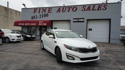 2015 Kia Optima for sale at Fine Auto Sales in Cudahy WI