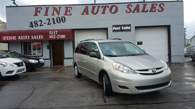 2008 Toyota Sienna for sale at Fine Auto Sales in Cudahy WI
