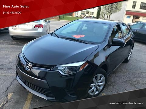 2016 Toyota Corolla for sale in Cudahy, WI