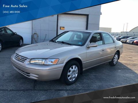 1997 Toyota Camry for sale at Fine Auto Sales in Cudahy WI