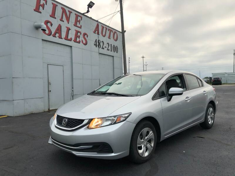 2015 Honda Civic for sale at Fine Auto Sales in Cudahy WI