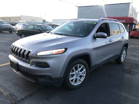 2018 Jeep Cherokee for sale at Fine Auto Sales in Cudahy WI