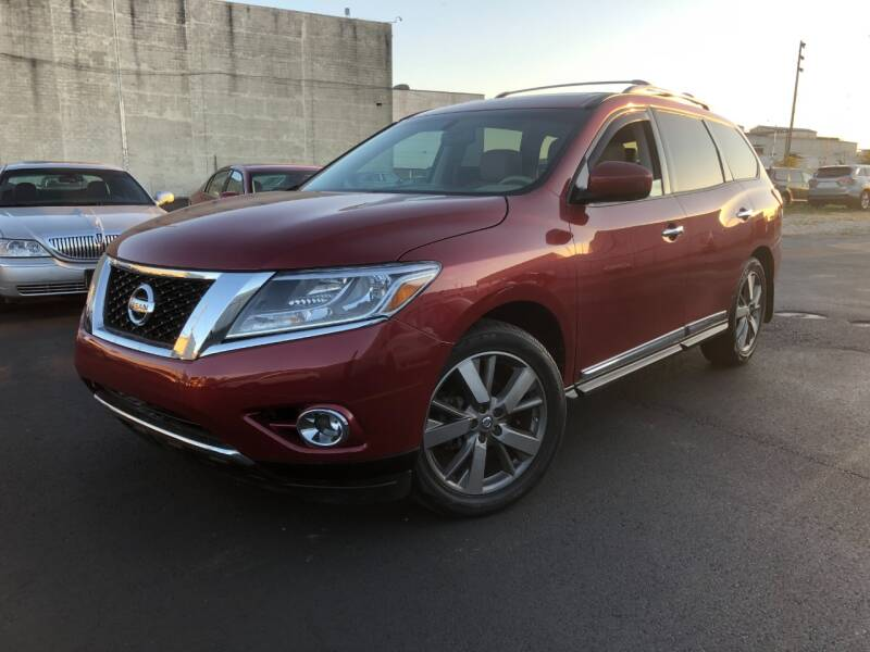 2014 Nissan Pathfinder for sale at Fine Auto Sales in Cudahy WI