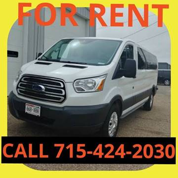 2016 Ford Transit Passenger for sale at L & L MOTORS LLC - RENTAL INVENTORY in Wisconsin Rapids WI