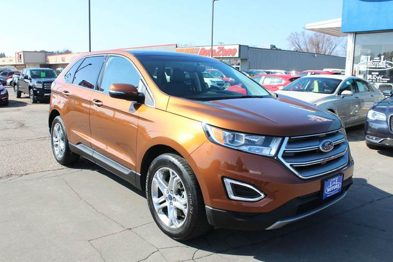 Ford Edge Awd Titanium Dr Crossover Wisconsin Rapids Wi