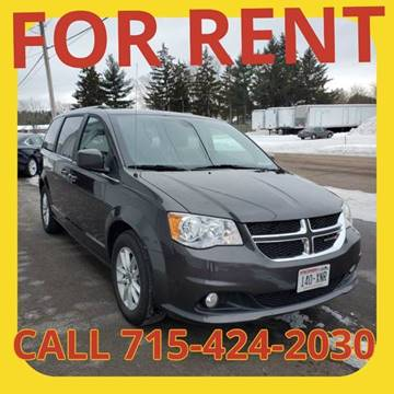 2019 Dodge Grand Caravan for sale at L & L MOTORS LLC - RENTAL INVENTORY in Wisconsin Rapids WI