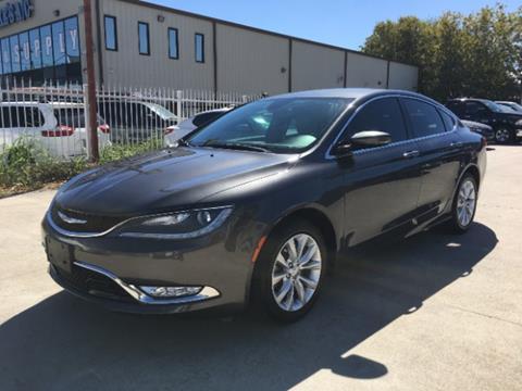 2015 Chrysler 200 for sale in Houston, TX