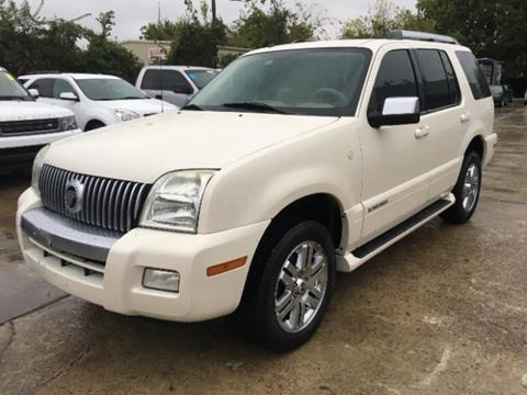 2009 Mercury Mountaineer for sale in Houston, TX