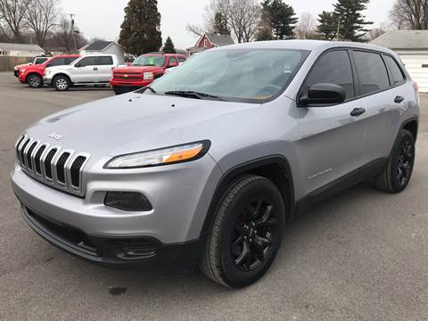 2014 Jeep Cherokee for sale in Akron, IN