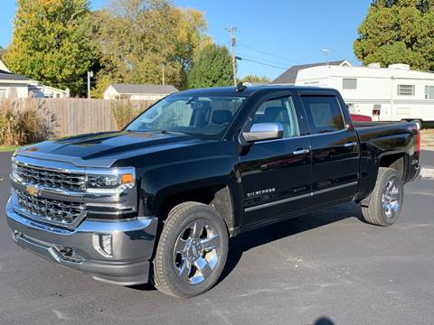 2017 Chevrolet Silverado 1500 for sale at Gagnon  Motors - Gagnon Motors in Akron IN