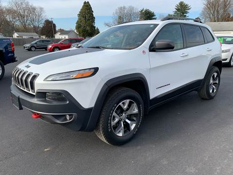 2016 Jeep Cherokee for sale at Gagnon  Motors - Gagnon Motors in Akron IN