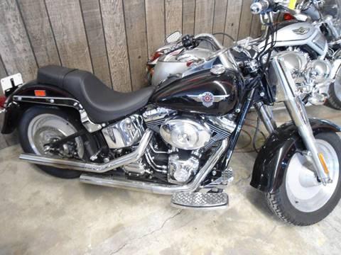2002 Harley-Davidson Fat Boy for sale in Sheldon, IA