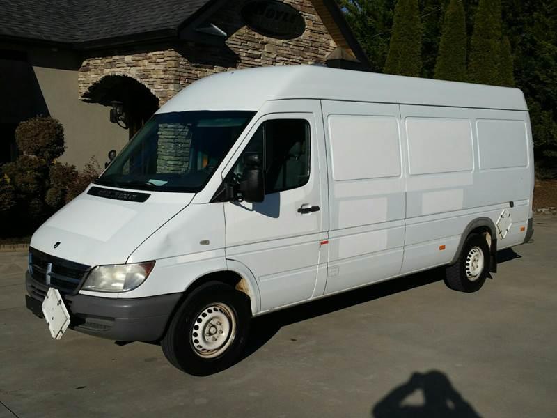 2006 dodge sprinter cargo van