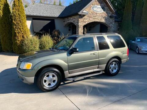 2003 Ford Explorer Sport for sale at Hoyle Auto Sales in Taylorsville NC