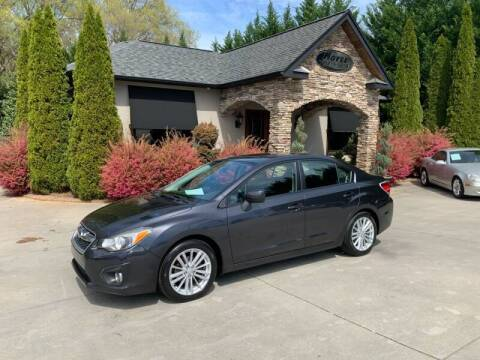2012 Subaru Impreza for sale at Hoyle Auto Sales in Taylorsville NC