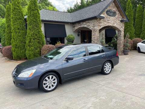 2007 Honda Accord for sale at Hoyle Auto Sales in Taylorsville NC