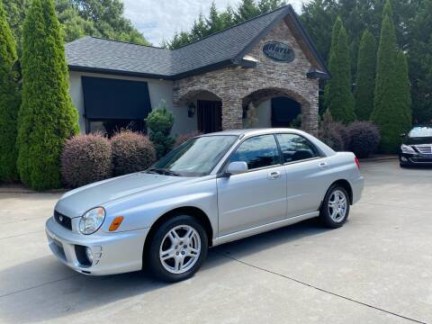 2003 Subaru Impreza for sale at Hoyle Auto Sales in Taylorsville NC