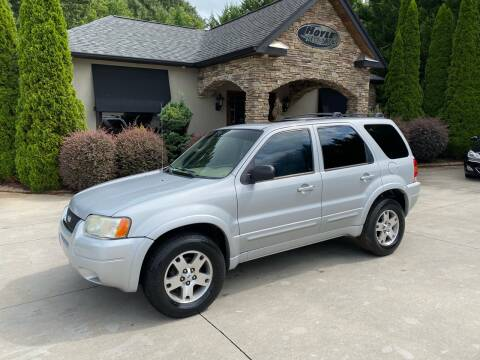 2003 Ford Escape for sale at Hoyle Auto Sales in Taylorsville NC