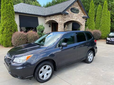 2014 Subaru Forester for sale at Hoyle Auto Sales in Taylorsville NC